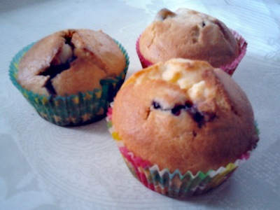 Blueberry creamcheese muffins