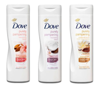 Dove purely pampering bodylotion