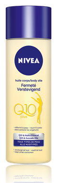 nivea verstevigende body olie Q10 plus