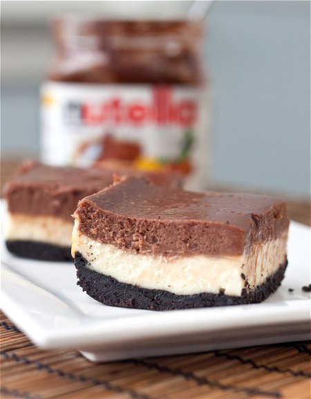 Nutella Cheesecake Repen