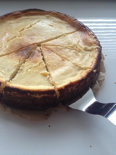 Cheesecake in stukken