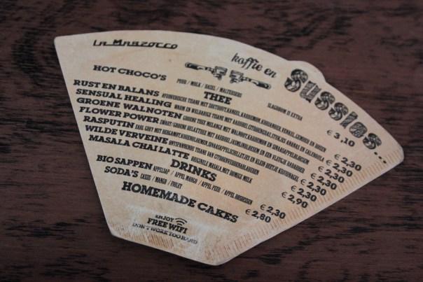 sussies antwerpen menukaart