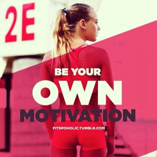 Fitness op Instagram Motivatie