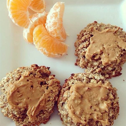 Instagram Just Fit Foods oatmeal cookies