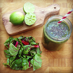 Instagram Simple Green Smoothies recept smoothie