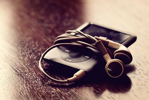 Ipod muziek luisteren