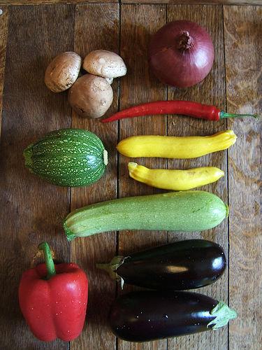 Verse groenten voor een gezonde leefstijl
