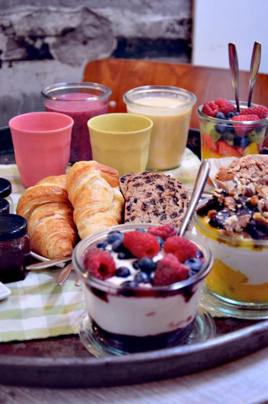 Naast een high tea en een picknick, heeft Yoghurt Barn ook een heerlijke brunch!