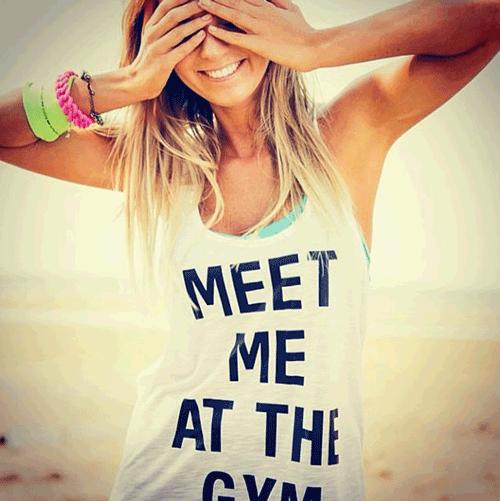 hannahpolites op Instagram gym