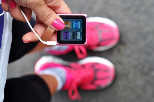 muziek luisteren tijdens het sporten