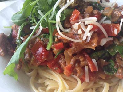 Verse homemade tomatensaus