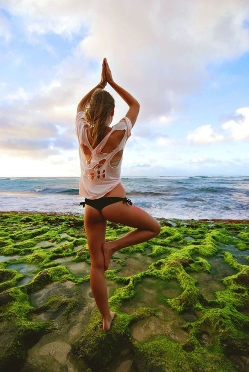 yoga moves bilspieren