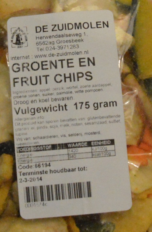 groente en fruit duurder