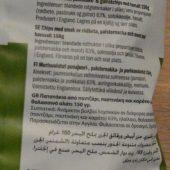 Ingredienten groentechips tyrrells