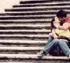 Romantiek op de trap