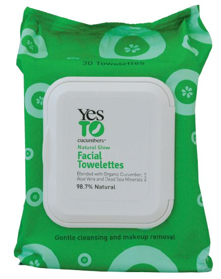 Yes to cucumbers facial wipes organisch