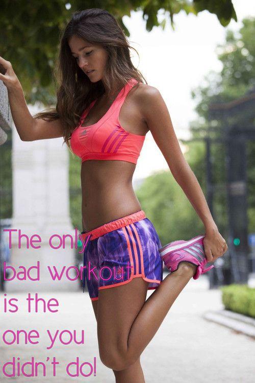 Motivatie quote no bad workout