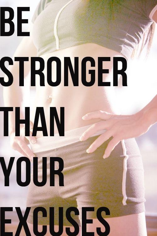 Motivatie quote be stronger