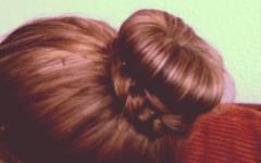 donut in je haar