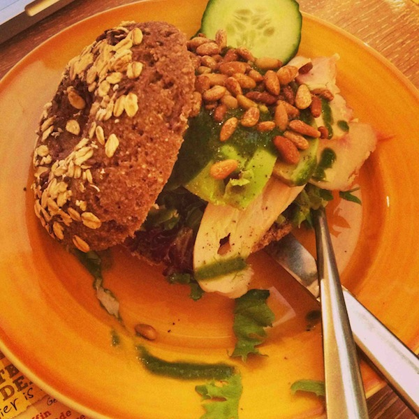 healthy bagel Bagels & Beans