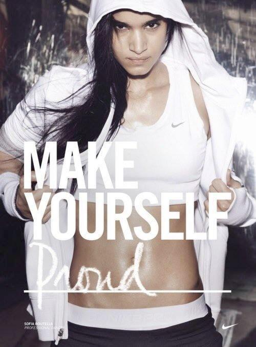 Motivatie quote make yourself proud