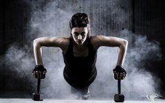 trainen met gewichten