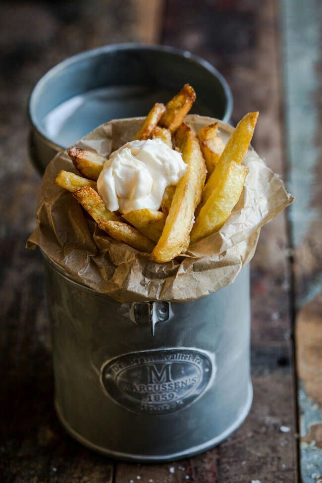 Food Friday frietjes uit blik