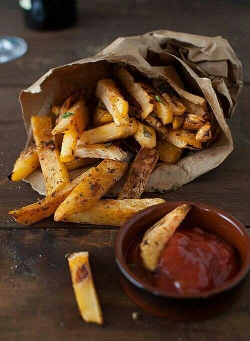 Food Friday frietjes uit een zakje
