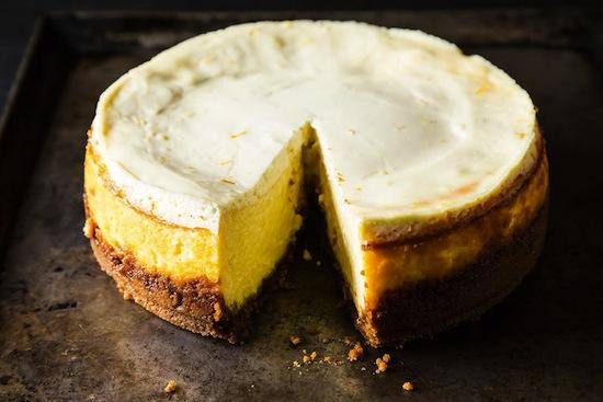 Klassieke citroen cheesecake