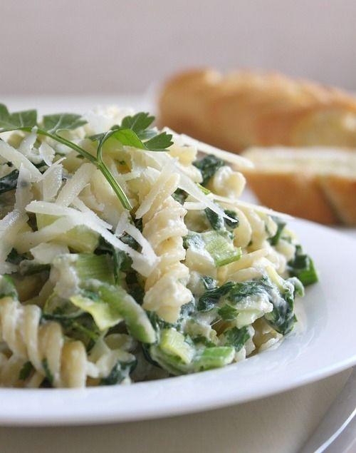 Pasta met groente