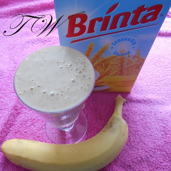 brinta-banaan smoothie