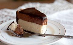 chocolademousse cheesecake
