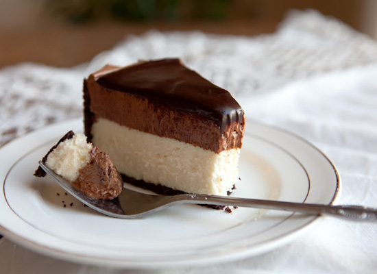 chocolademousse cheesecake