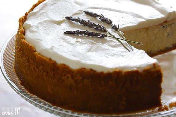 lavendel cheesecake