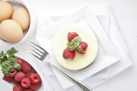 mini framboos caramel cheesecake Bellalimento