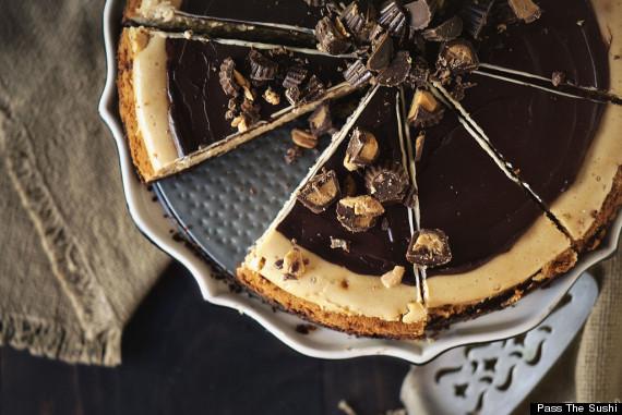pindakaas cheesecake