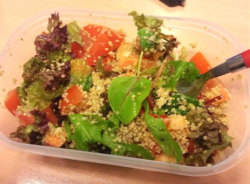salade met quinoa