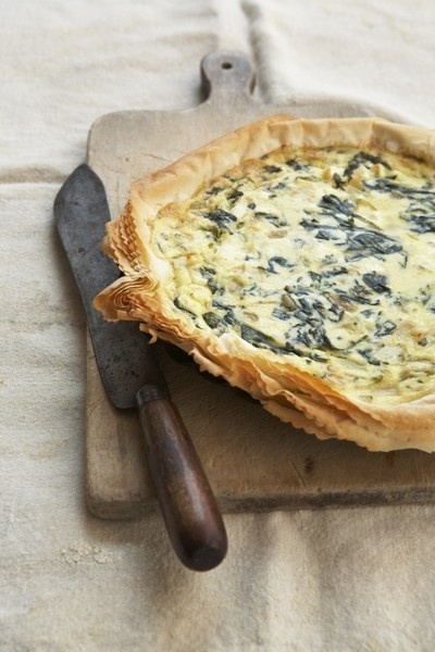Food friday quiche met spinazie