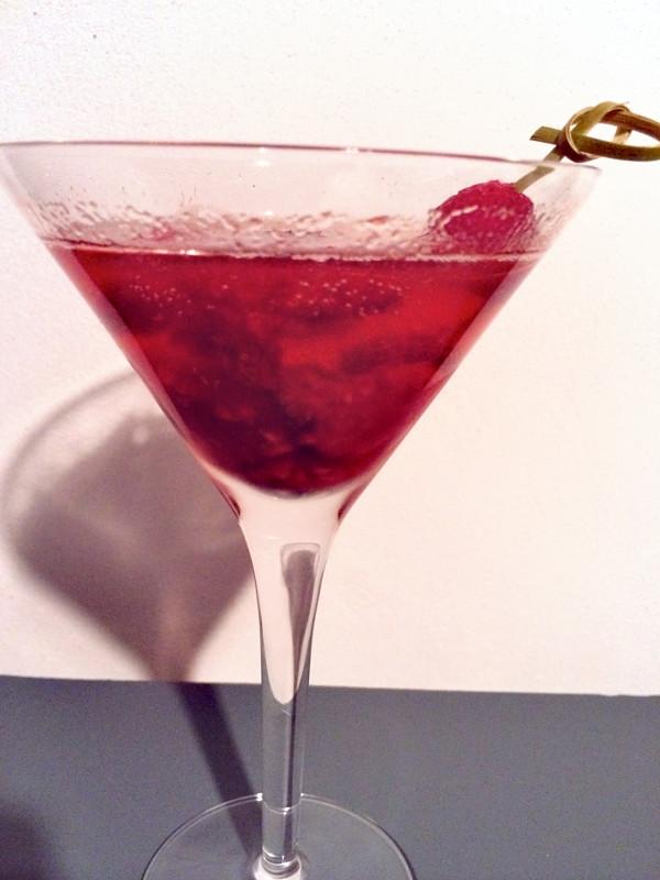 Frambozen cocktail