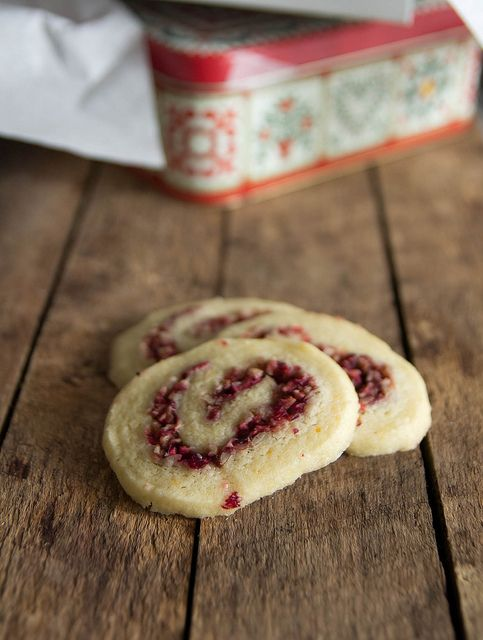 orange cranberry pinwheels
