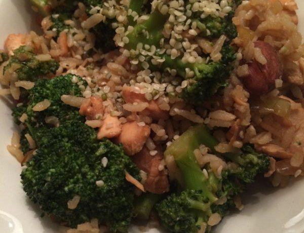 Feel Magazine eetdagboek rijst met zalm