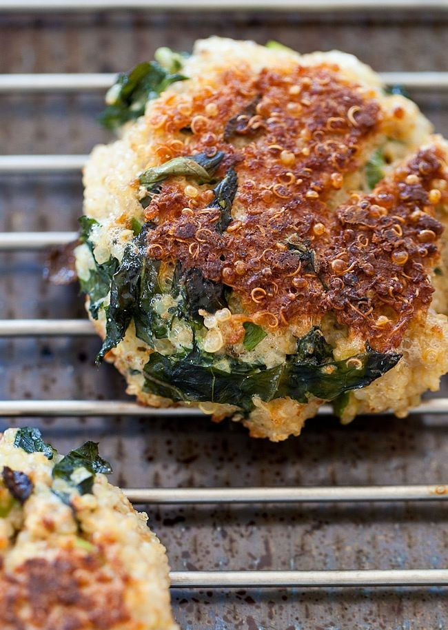 Food Friday Quinoa boerenkool burgers