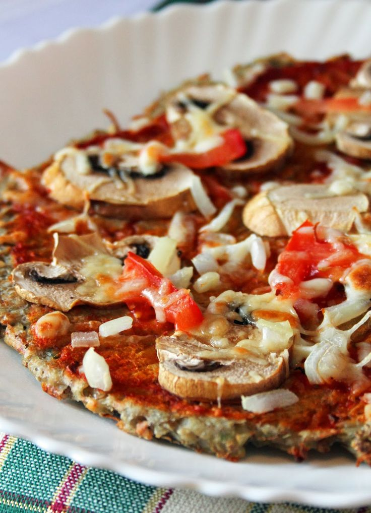 Food Friday Quinoa pizza crust