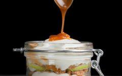 Food friday parfait met appel en caramel