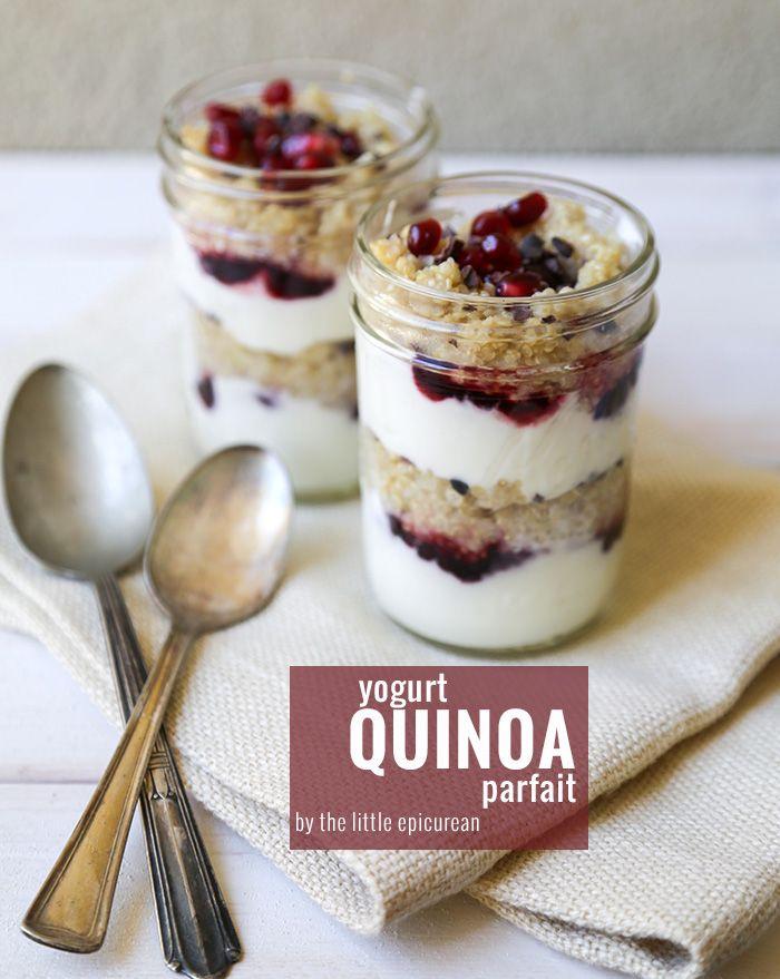 Food friday parfait quinoa