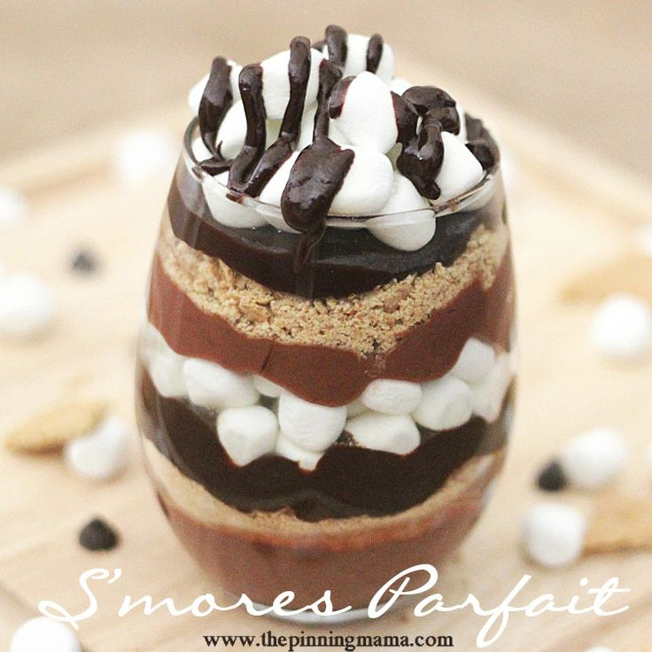 Food friday parfait smore