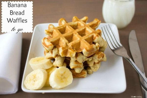 Food friday wafels banaan
