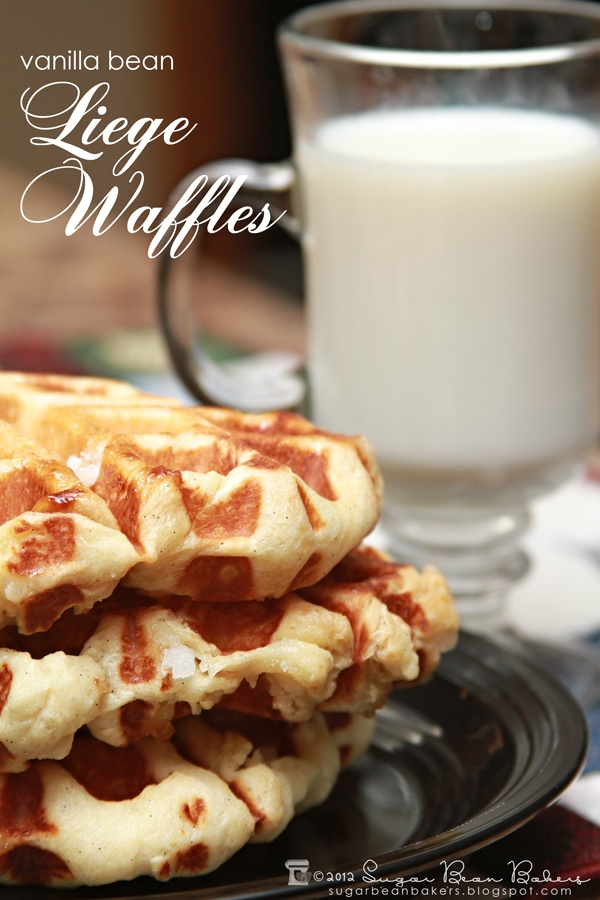Food friday wafels met vanille