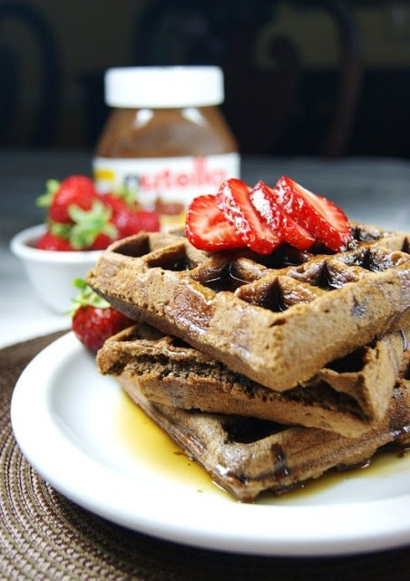 Food friday wafels nutella