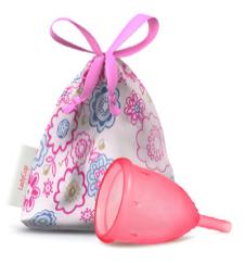 Menstruatiecup roze